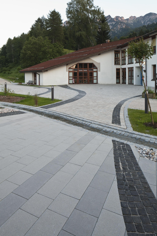 Mehrsteinsystem DECASTON nativo Muschel-Kalk Kleinpflastersystem 8 cm