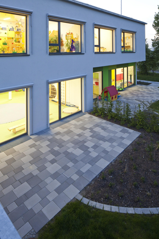 Terrassenplatte GARTENPLATTE nativo Grau 600 x 400 x 50 mm