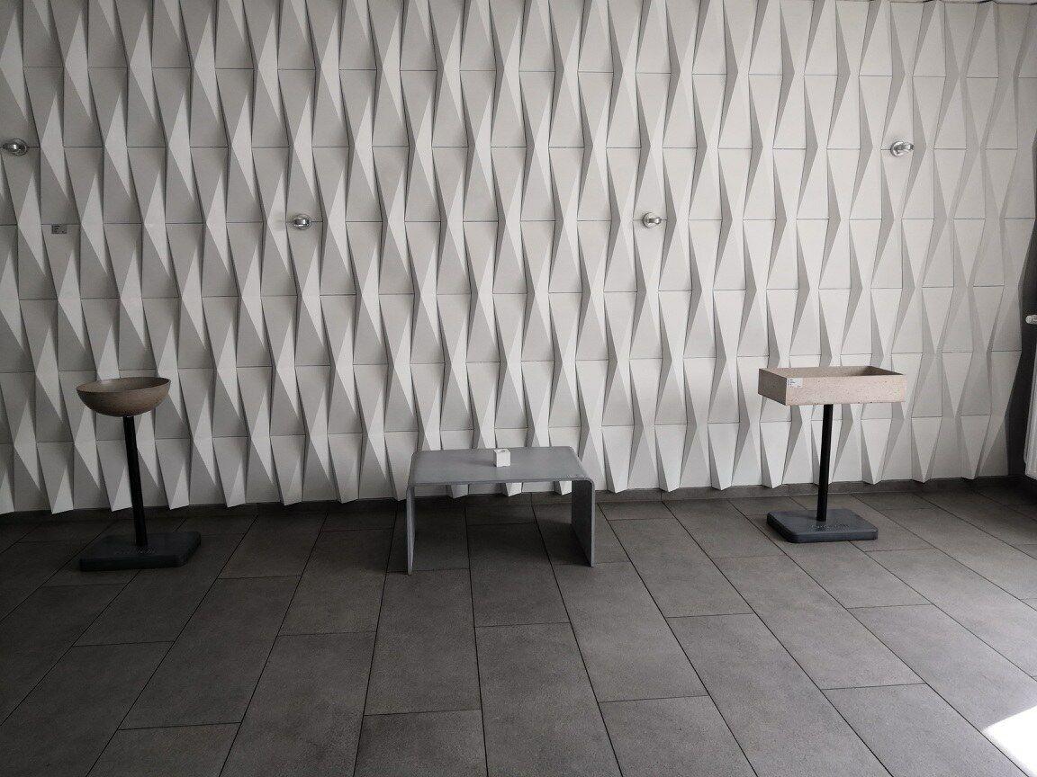Wandverkleidung CASTELATTO ORIGAMI Branco 800 x 200 x 80 mm