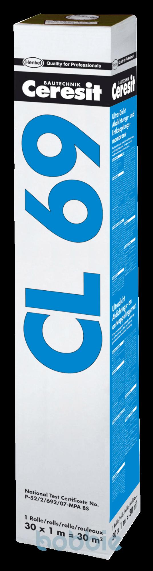 CL 69 Ultradicht & CL 620 Dichtband