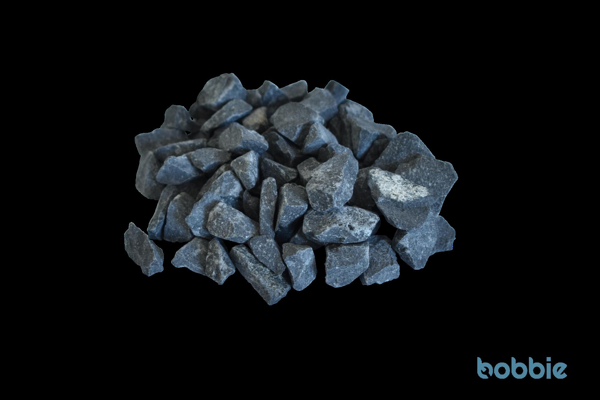 Basalt-Ziersplitt, schwarz