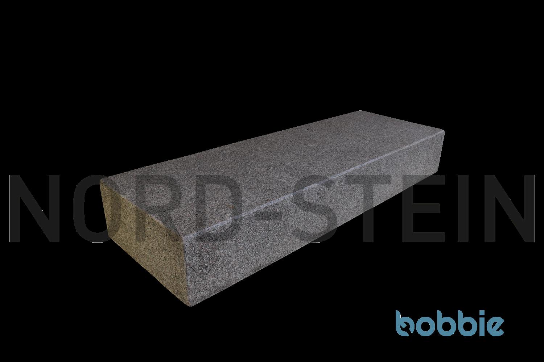 """Granit-Blockstufen, """"Bovall-rot"""""""