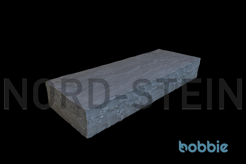 """Sandstein-Blockstufen, """"Kandla-grey"""""""