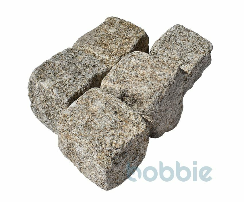 "Granit-Pflaster ""Porto-gelb"", neu"