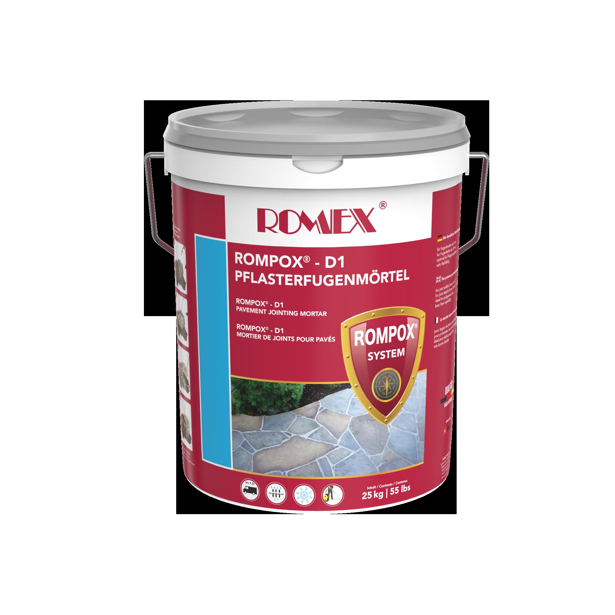 ROMPOX® -D1 steingrau