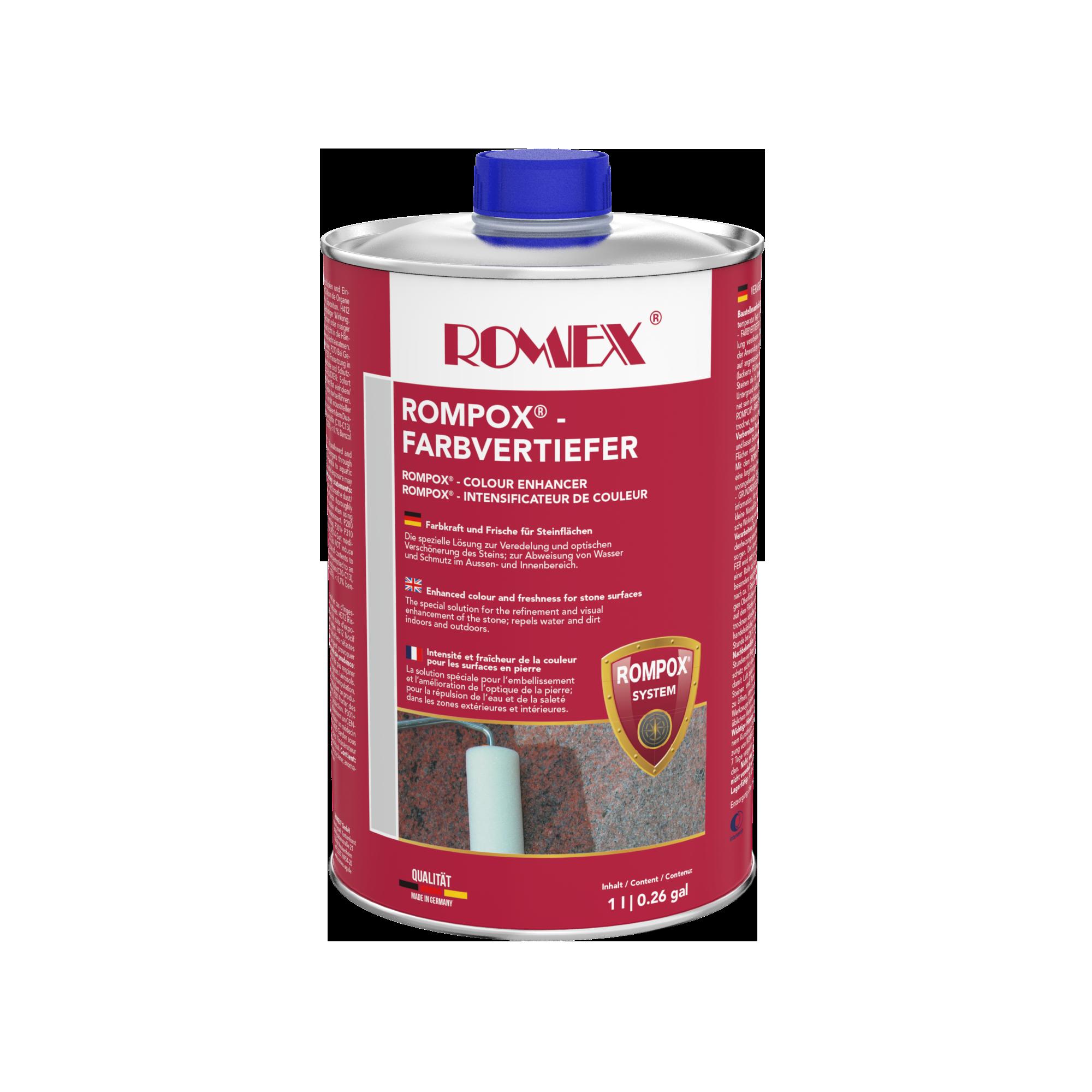 ROMPOX® - Farbvertiefer 1 - 10 Liter