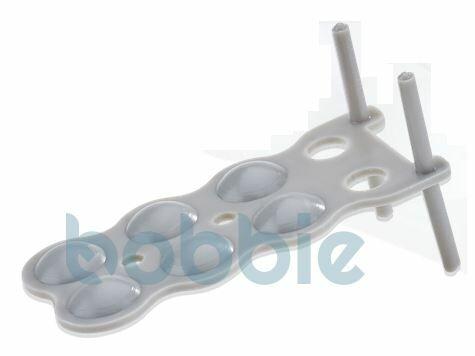 Stapelplatte Kunststoff 4-Haken