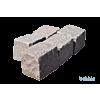 Granit-Reihensteine 14-16x16-22x14-16 cm,