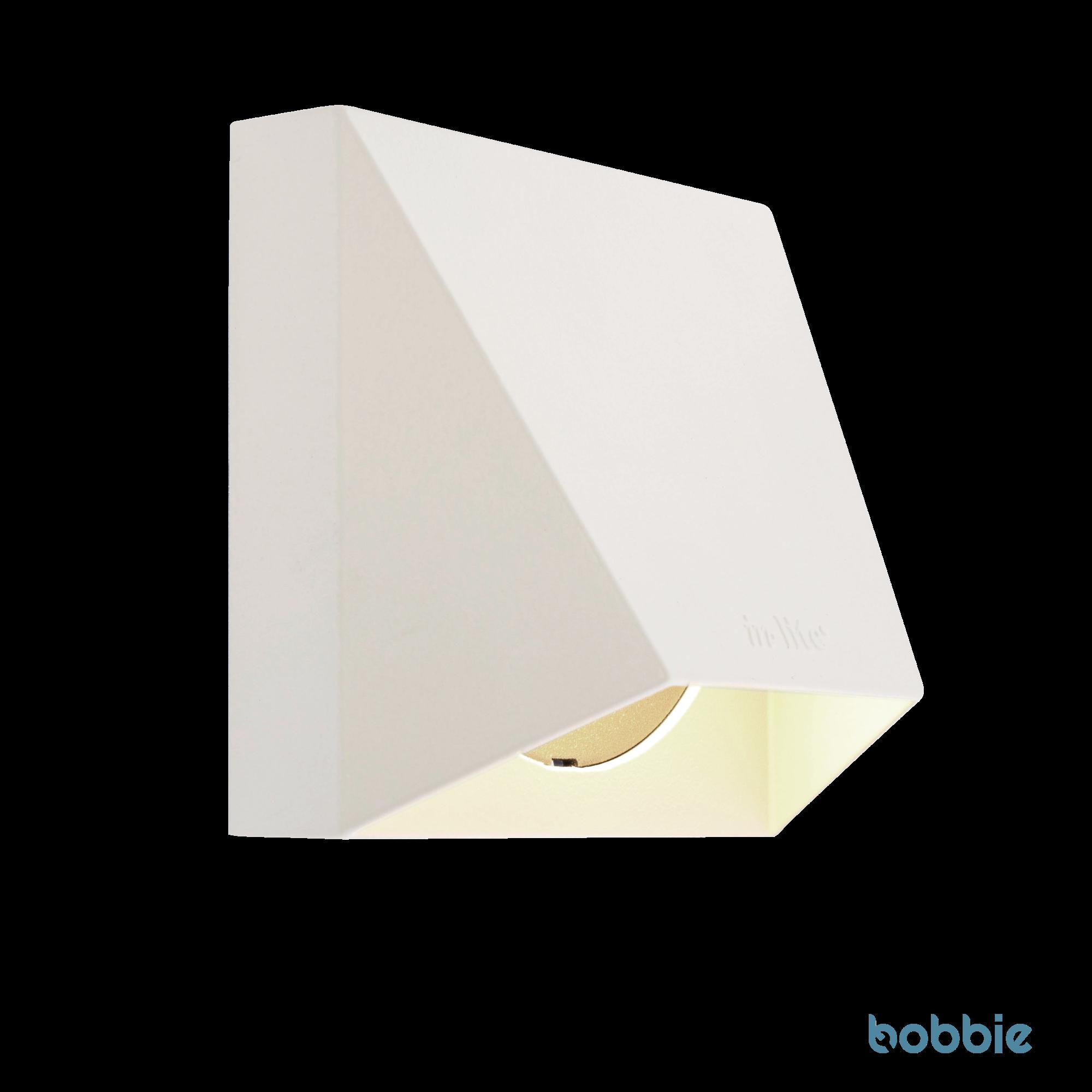 Wandlampe WEDGE WHITE