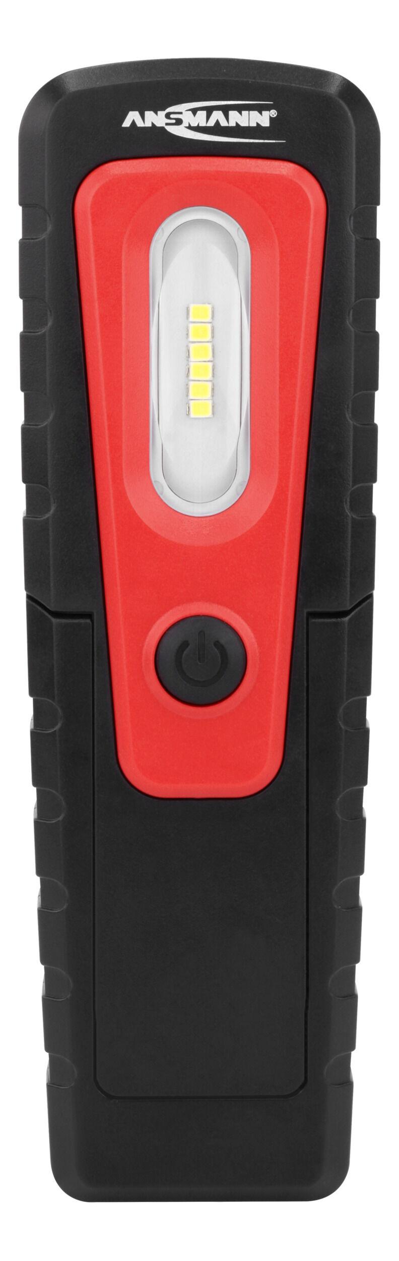 ANSMANN LED Werkstattlampe WL280B inkl. AAA Batterien, kabellos & magnetisch