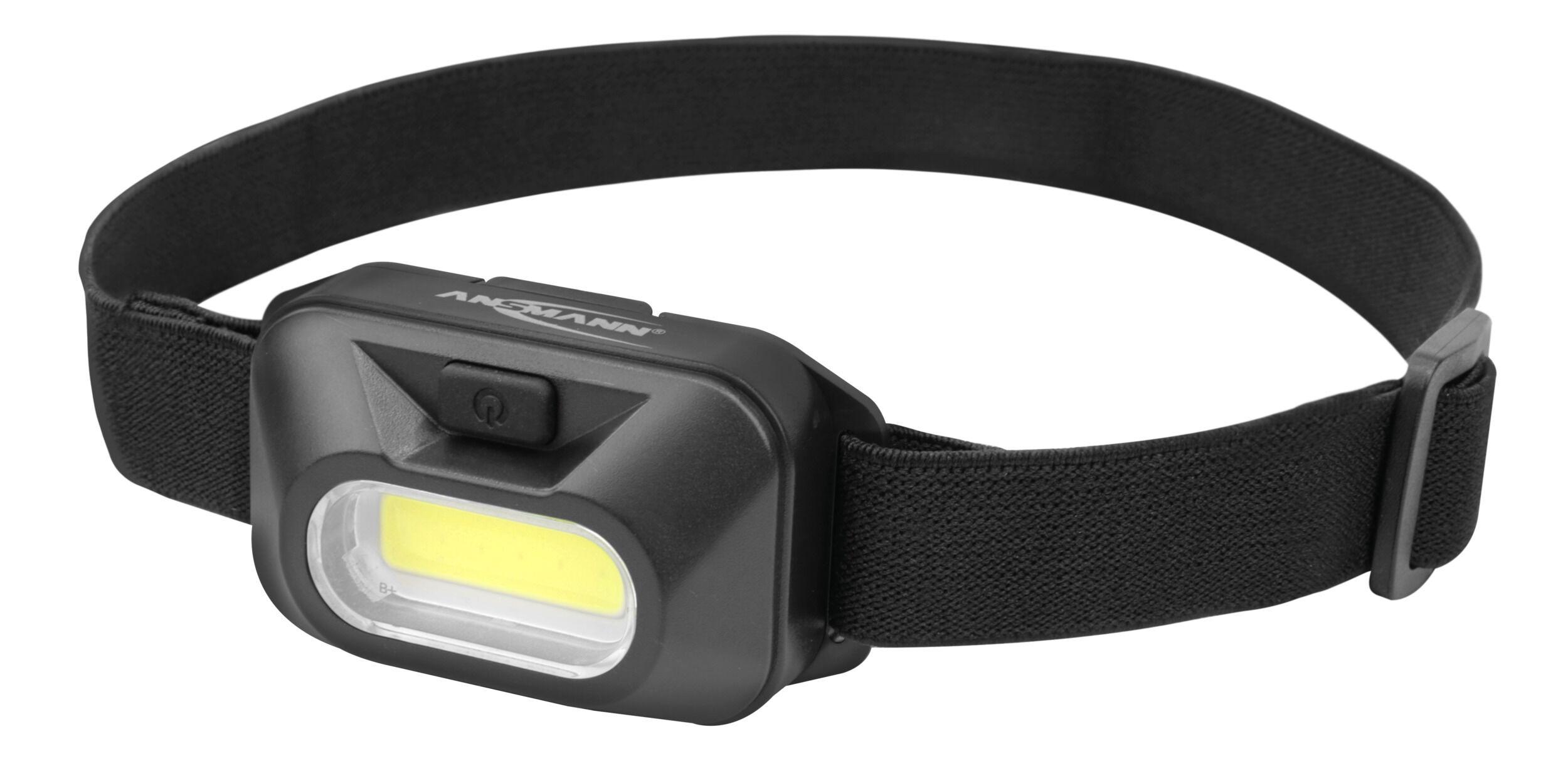 ANSMANN HD120B Stirnlampe mit COB LED