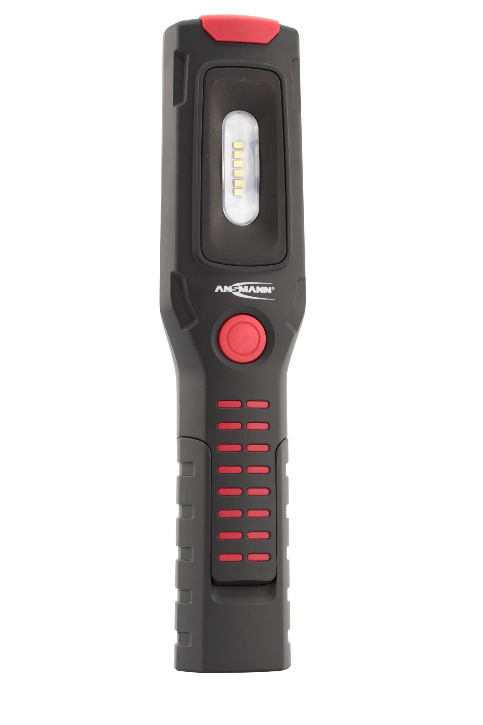 ANSMANN Akku LED-Werkstattlampe Aufladbar - für Werkstätten und Hobbyschrauber