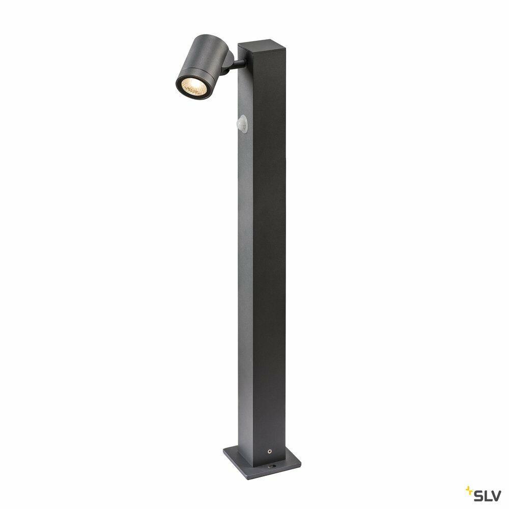 HELIA I Sensor FL, Outdoor LED Stehleuchte mit Bewegungsmelder anthrazit 3000K IP55