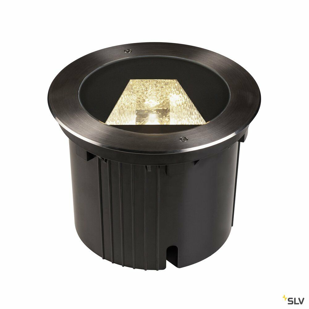 DASAR® 270, Outdoor LED Bodeneinbauleuchte, 4000K, rund, IP67, asymmetrische Abstrahlung