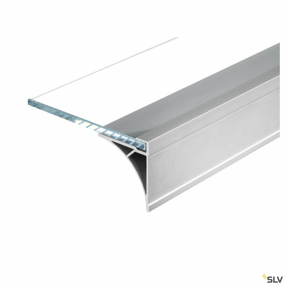 GLENOS, Regal-Profil, aluminium eloxiert, 1 m