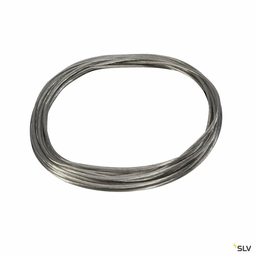TENSEO Niedervolt-Seilsystem, chrom, 4mm², 10m