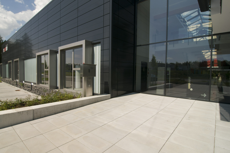 Terrassenplatte GARTENPLATTE nativo Grau 400 x 400 x 50 mm