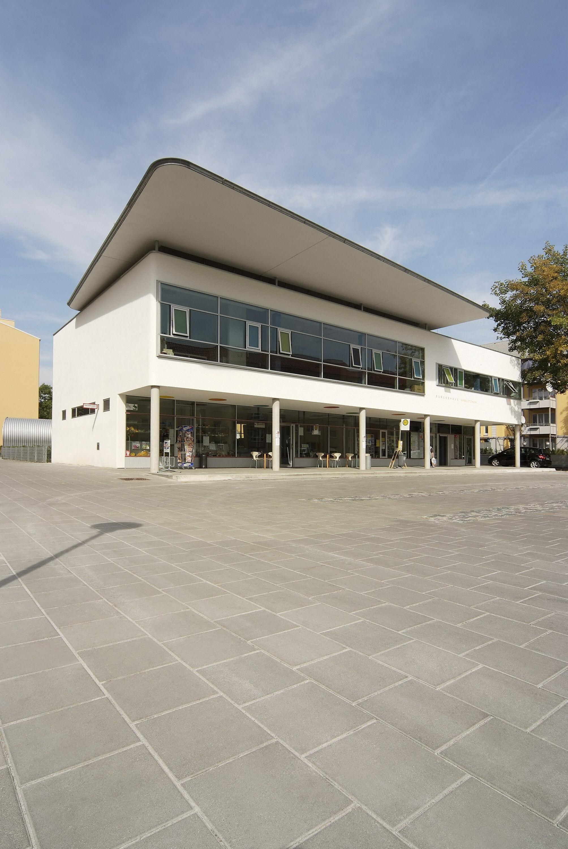 Terrassenplatte GARTENPLATTE ferro Grau 400 x 400 x 30 mm
