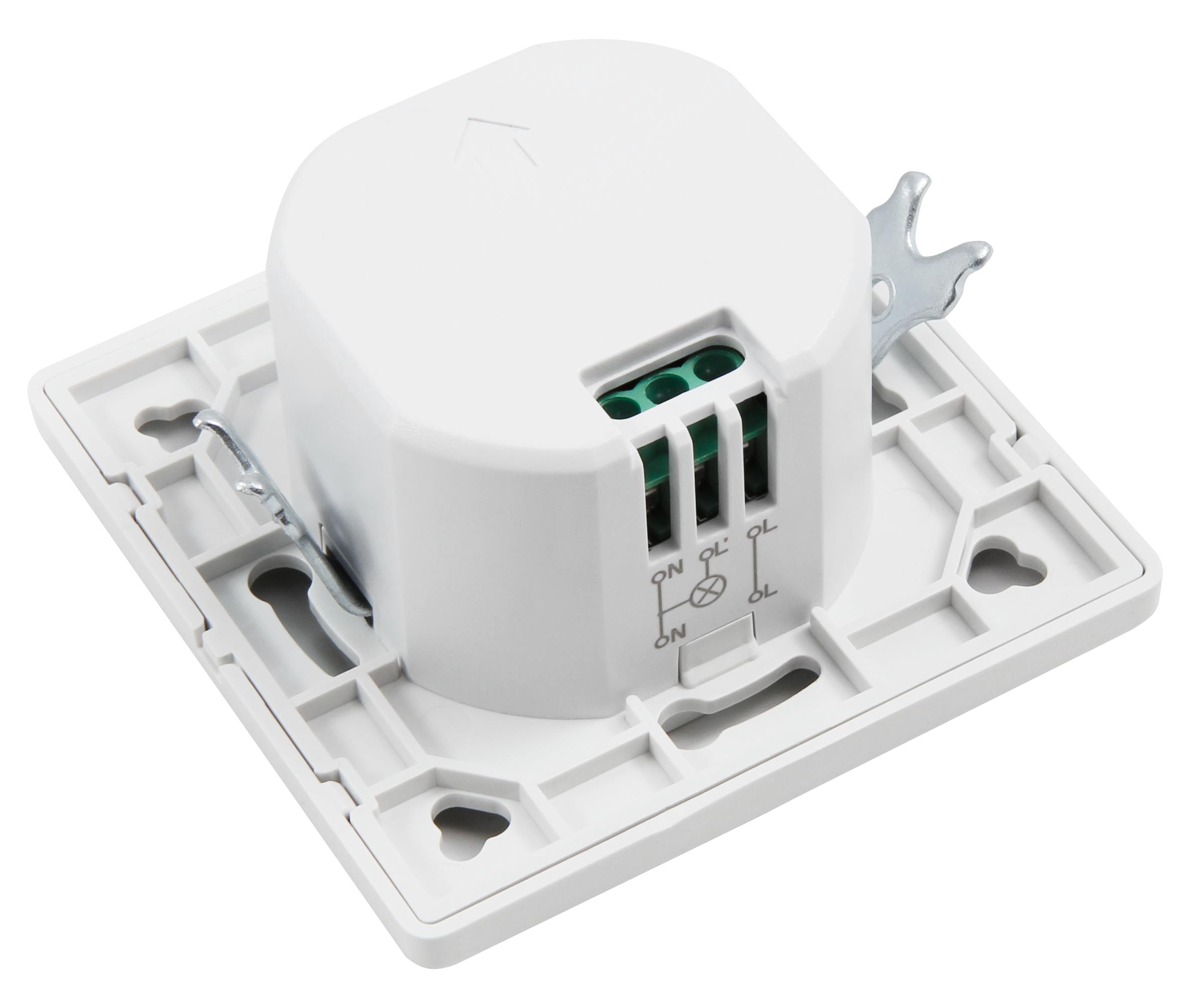 HF / Mikrowellen-Bewegungsmelder McShine ''LX-754'' 230V/1200W, Unterputz