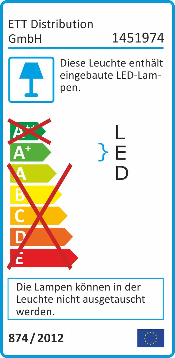 LED-Außenstrahler McShine ''SMD-Slim'' 10W, 700Lumen, 3000K, warmweiß, IP44
