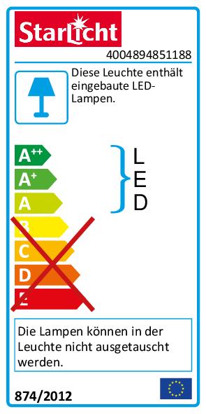 LED-Feuchtraumleuchte Rund IP54, 550lm, 4000K, 8W, neutralweiß, Bewegungsmelder
