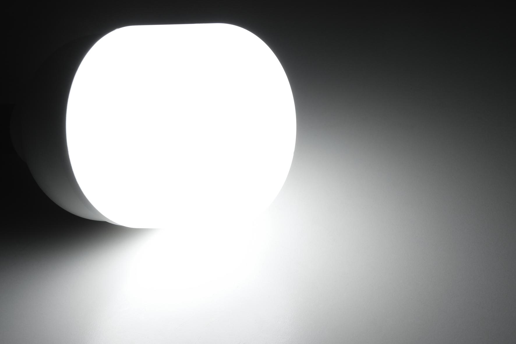 LED Lampe McShine ''BIG50'' E27, 50W, 4600lm, 138x254mm, neutralweiß