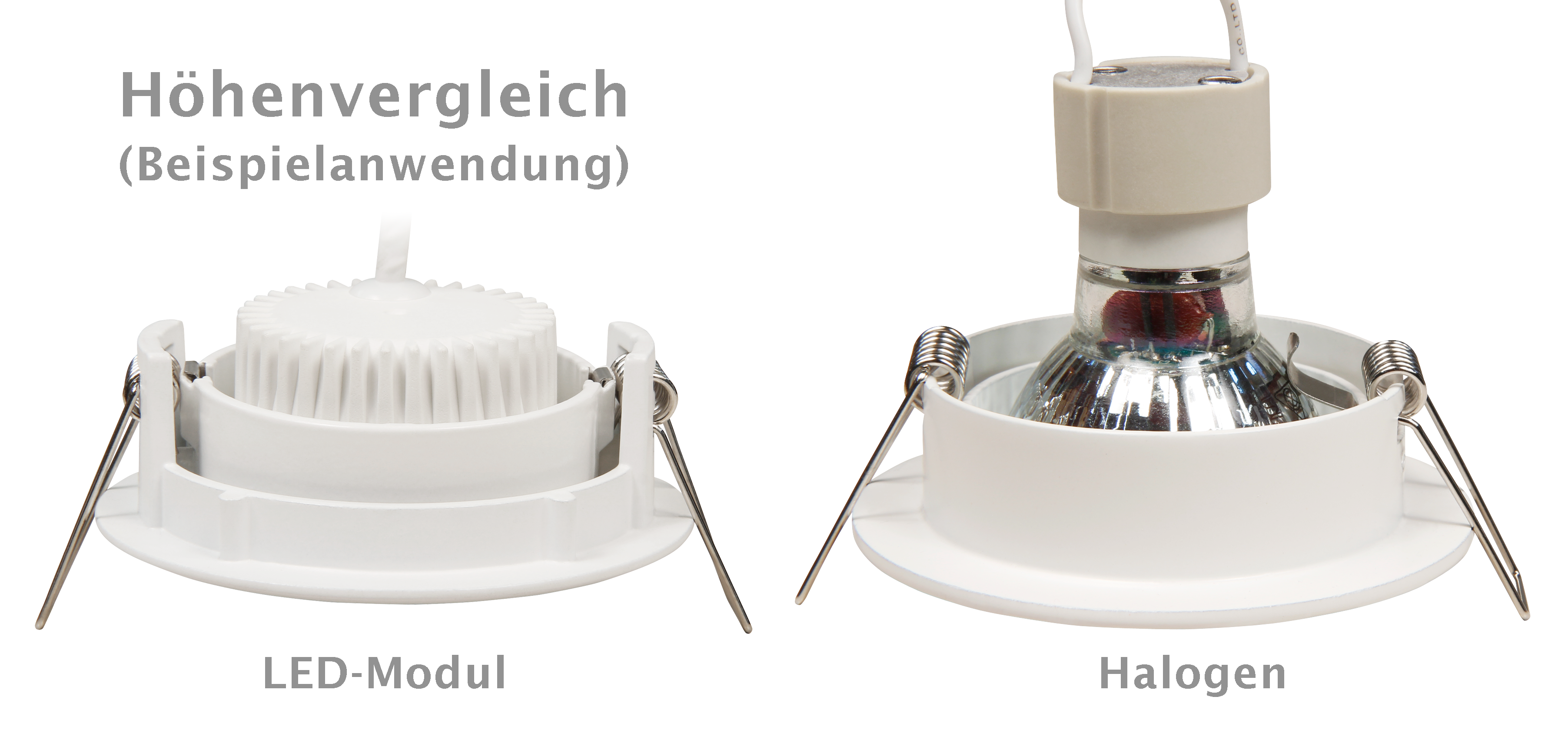 LED-Modul McShine ''MCOB'' 5W, 400lm, 230V, 50x25mm, neutralweiß, step-dimmbar