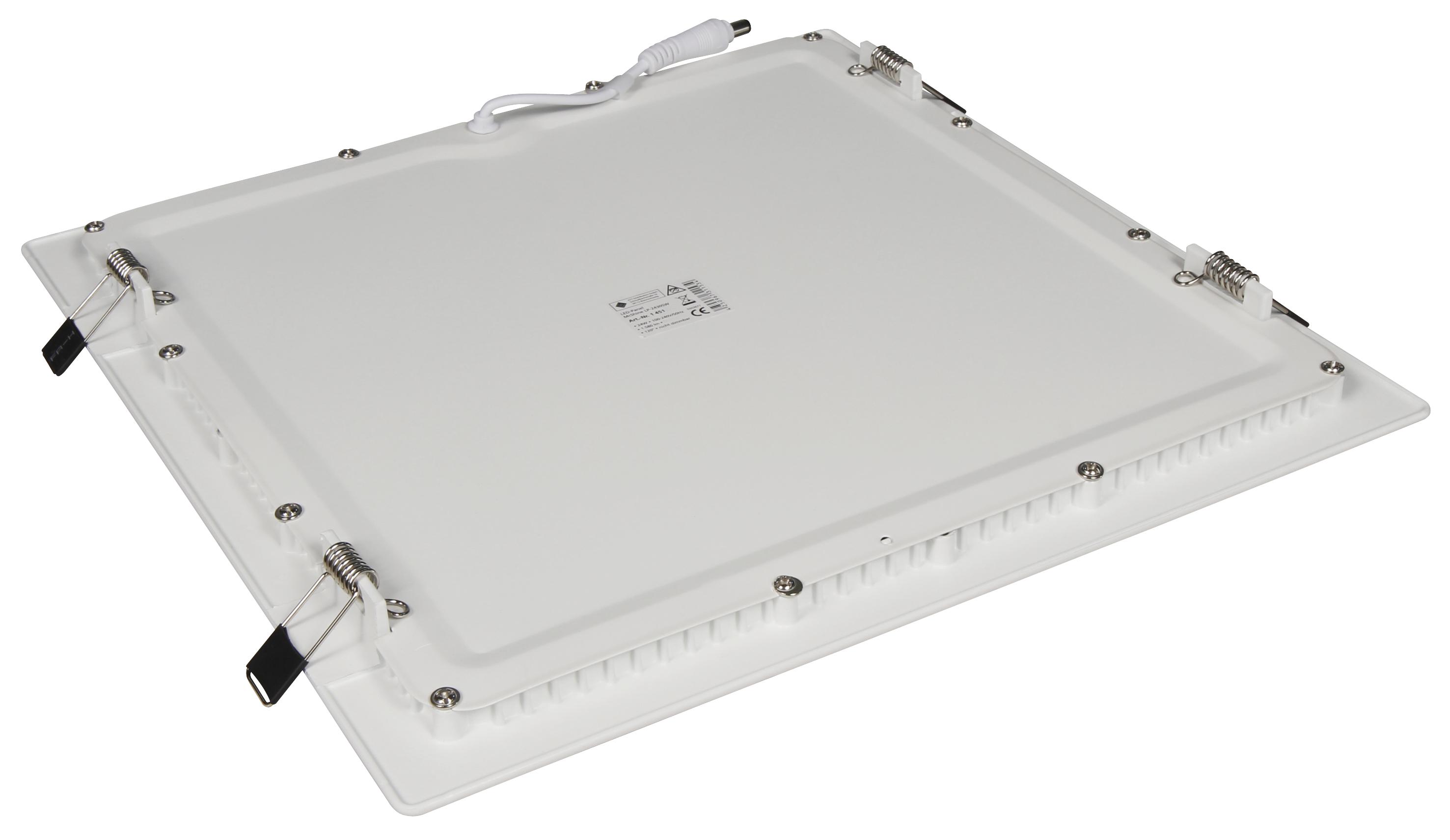 LED-Panel McShine ''LP-2430SN'' 24W, 300x300mm, 1.580 lm, 4000K, neutralweiß