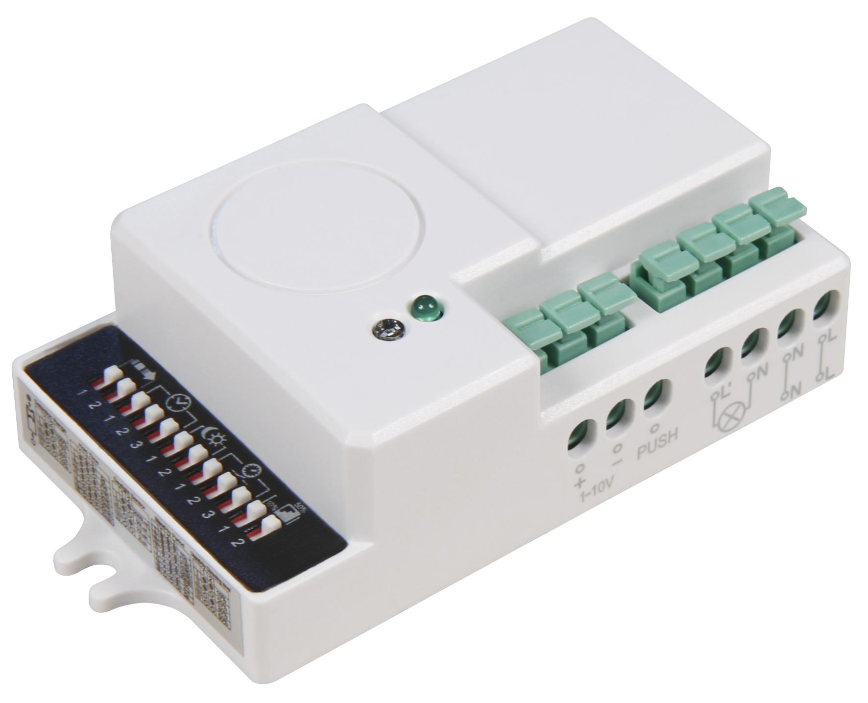 HF / Mikrowellen Bewegungsmelder McShine 360° ''LX-670'', 230V/600W, dimmbar