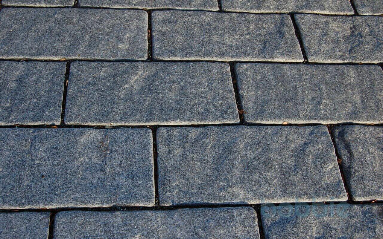 "Bodenplatten ""rustikal"" (gespalten & getrommelt) 40 cm x 40 cm"