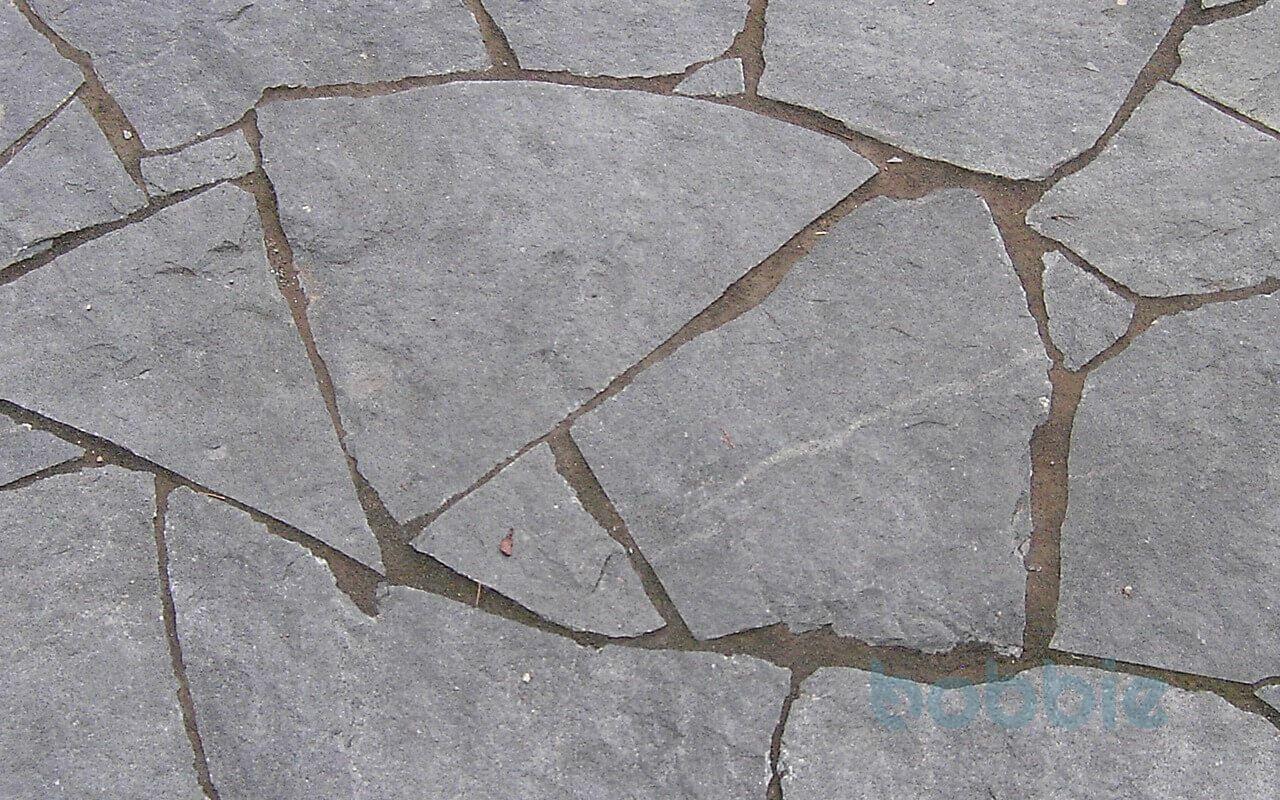 """Polygonale Wegeplatten """"gespalten"""" ohne Schnittkanten bis 0,4 m² / Stück"""