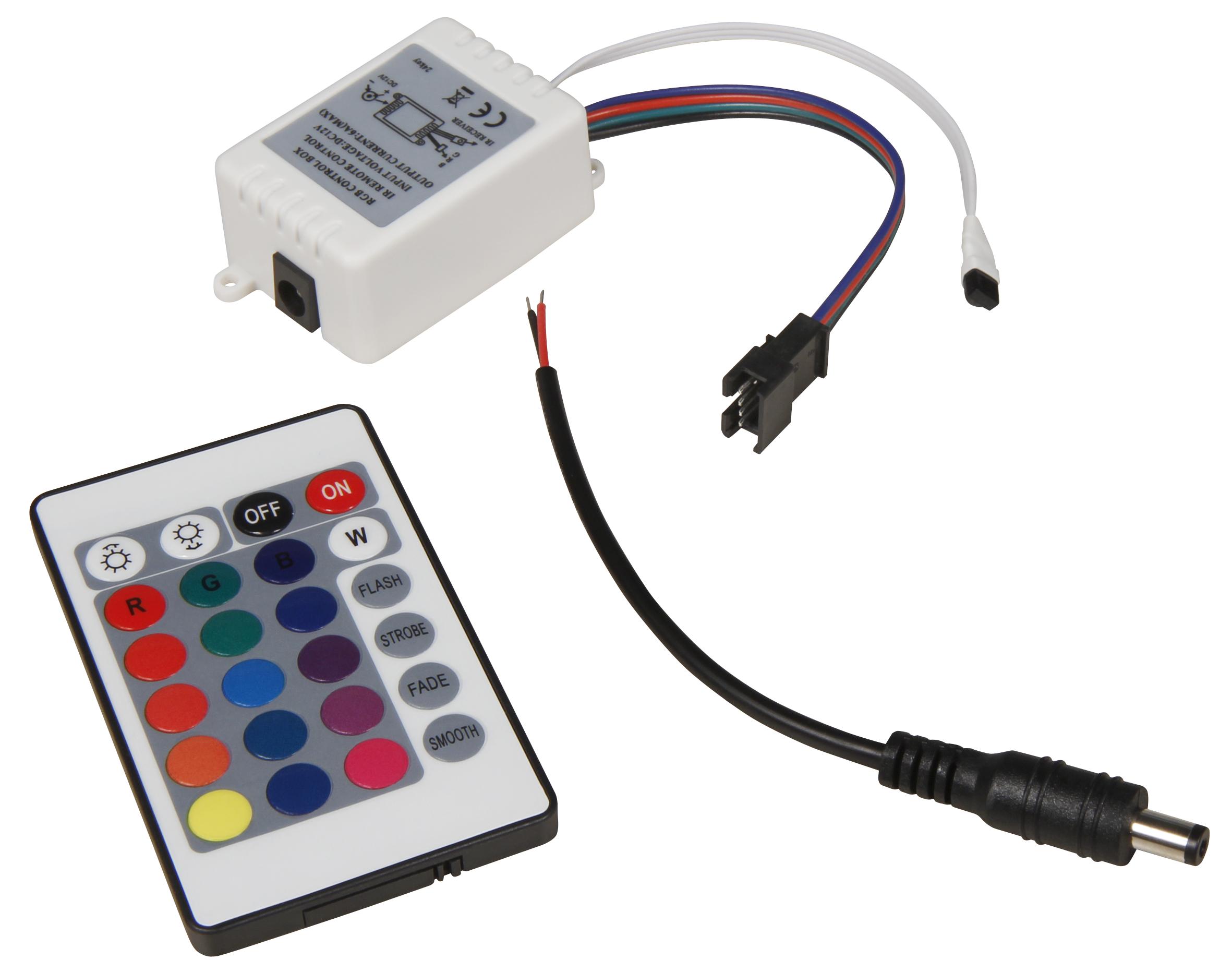 RGB-Controller für LED-Bodenleuchte McShine ''Fine'', inkl. Fernbedienung