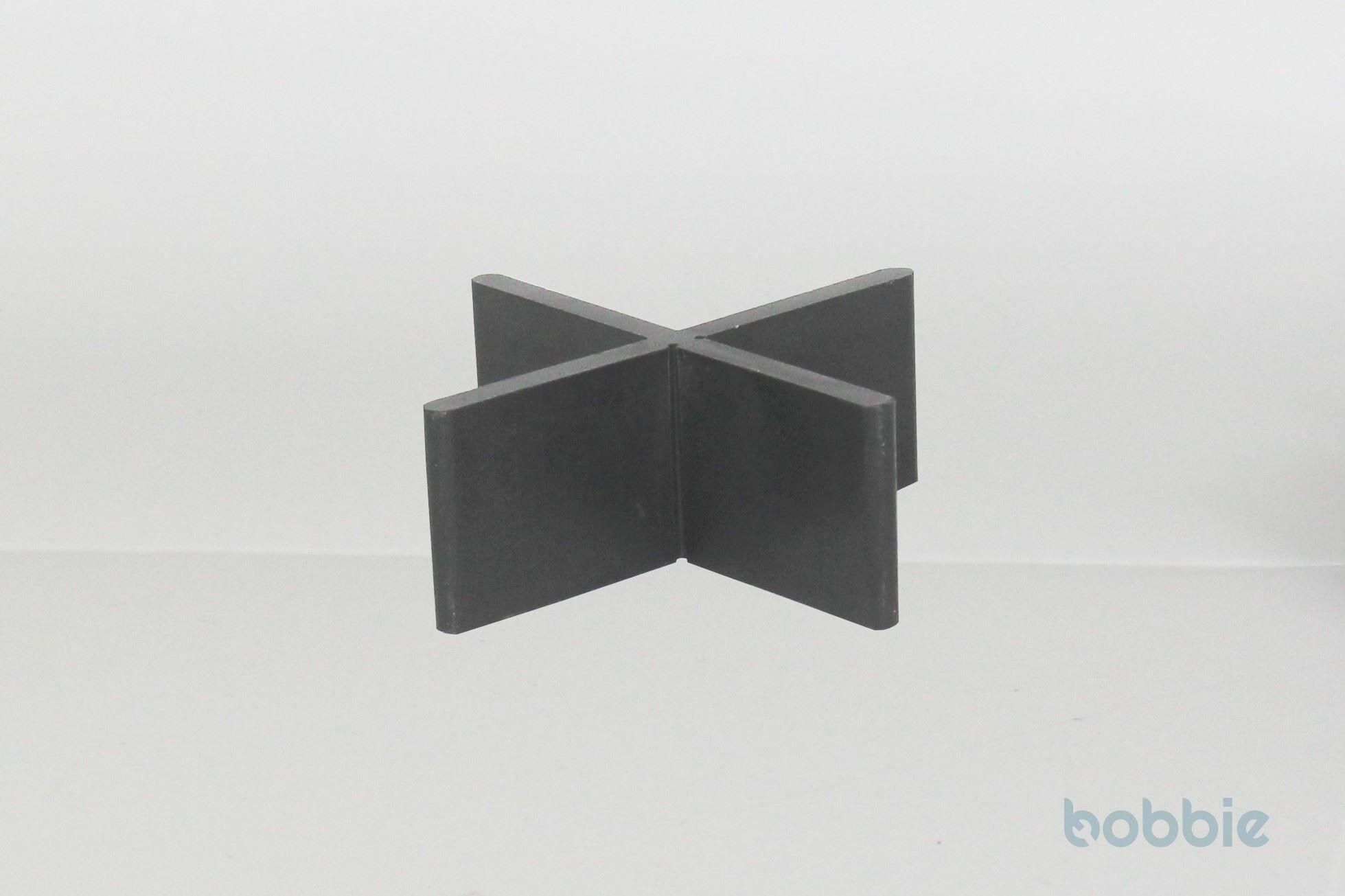 Fugenkreuz Kunststoff schwarz