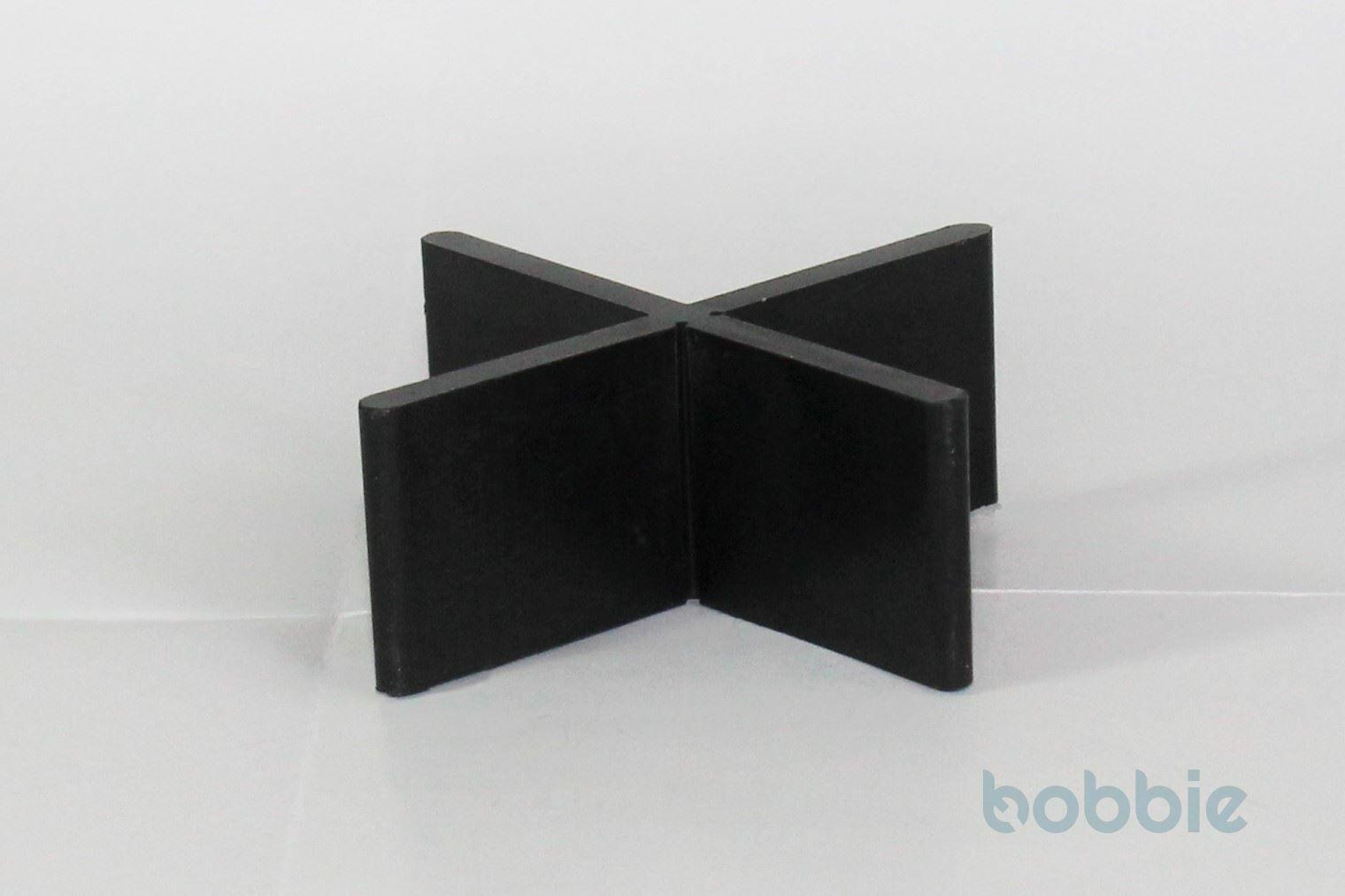 Fugen-T Kunststoff schwarz