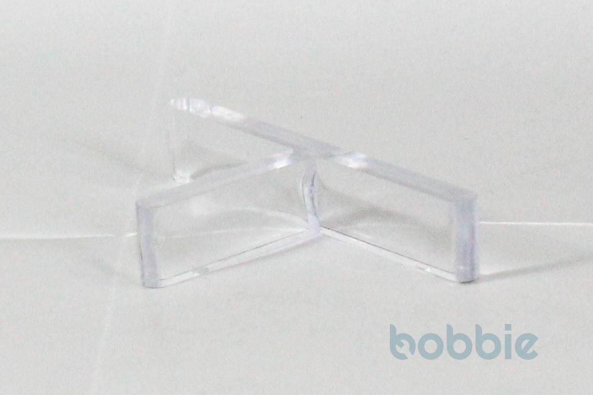 Fugen-T Kunststoff transparent klar
