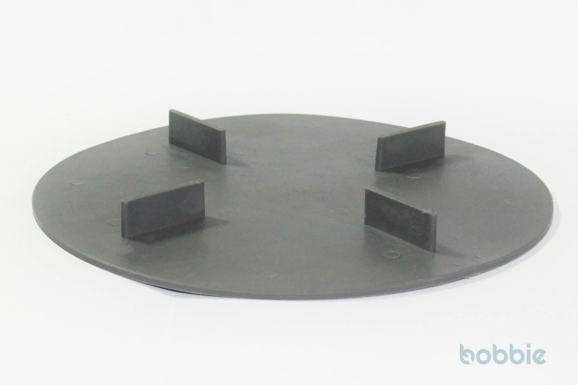Scheibe gummierter Kunststoff, 2mm Aufbau