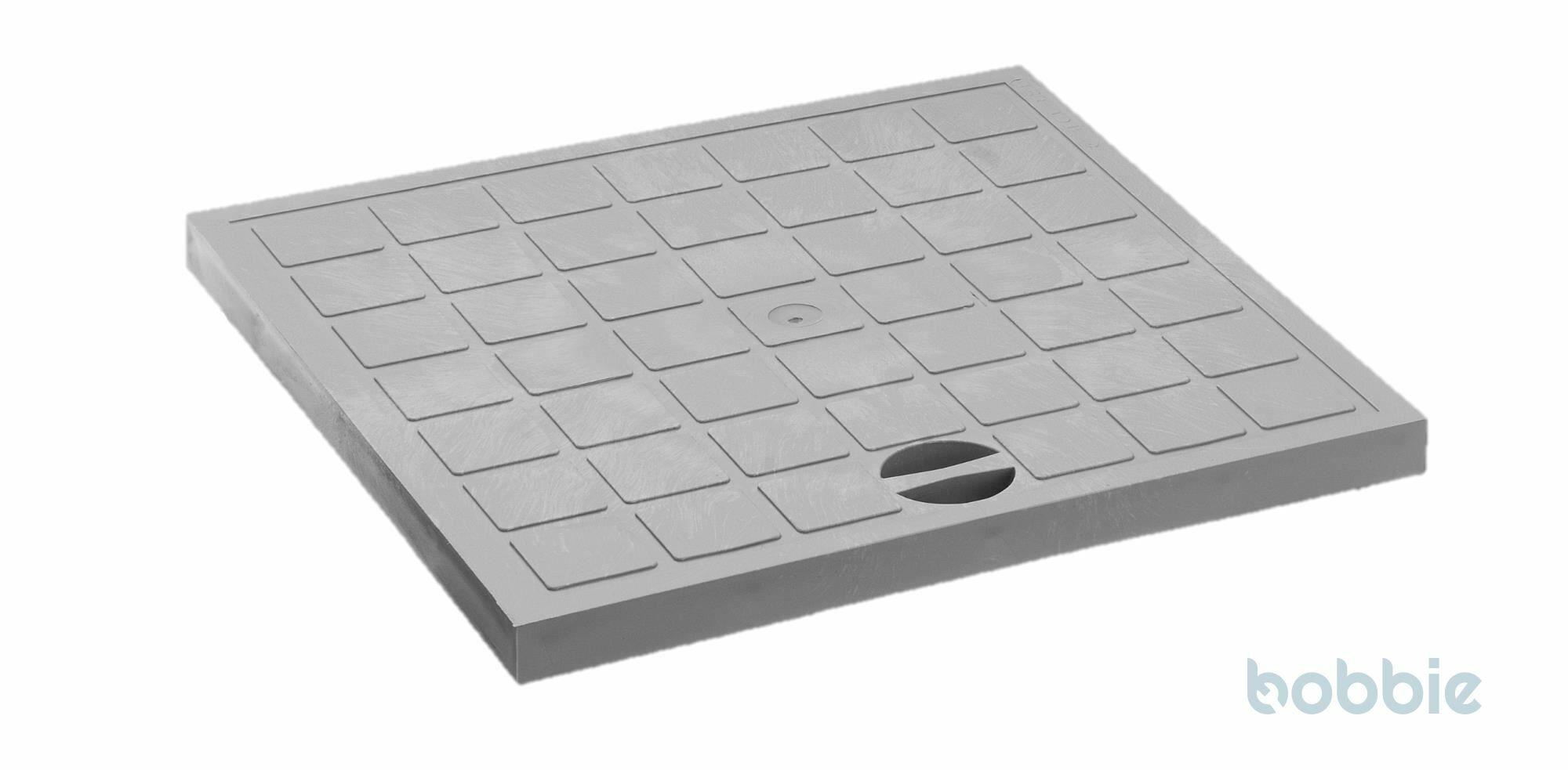 Kunststoff-Deckel begehbar f. DP-RR 400x400