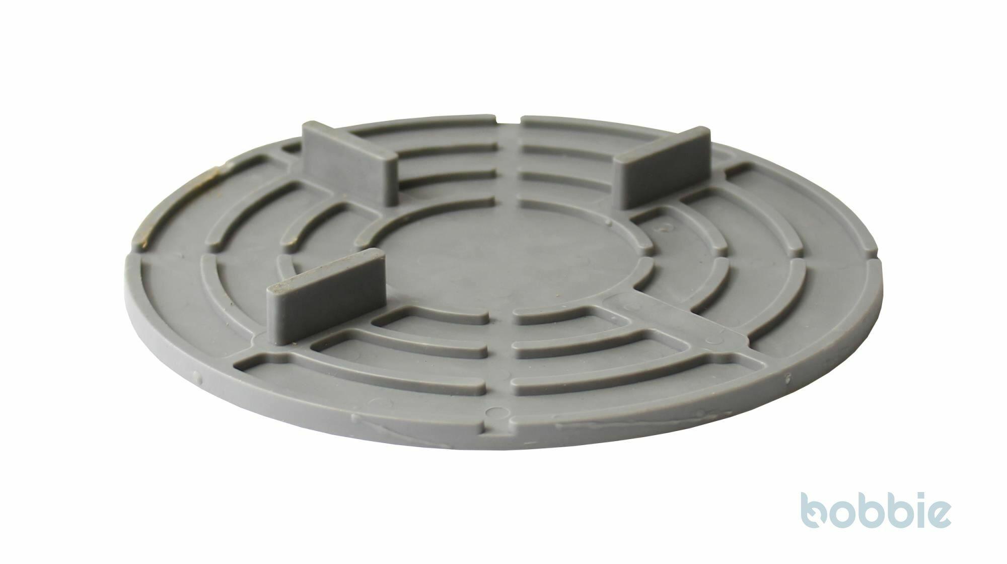Platte gummierter Kunststoff