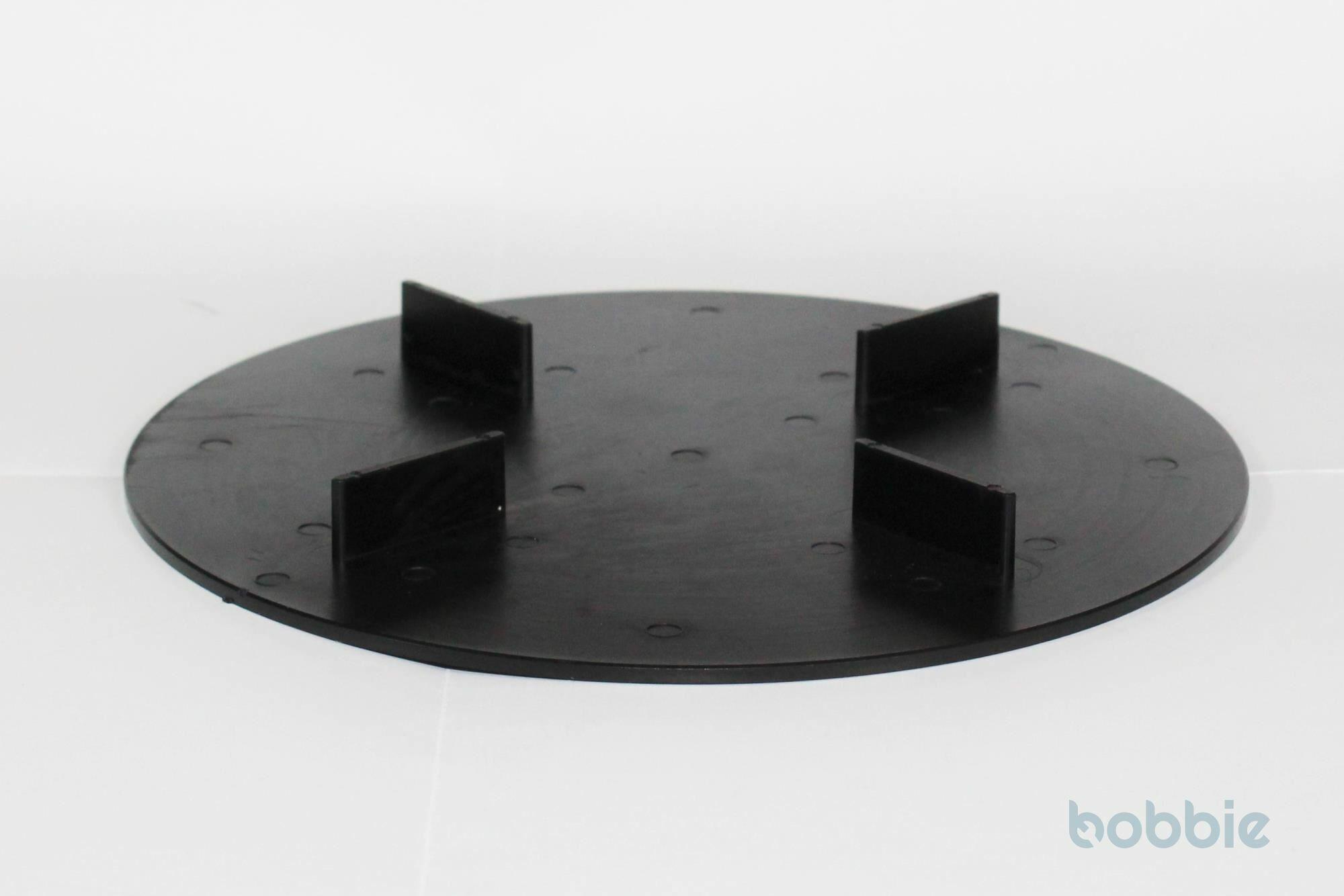 Scheibe f.Splitt-+Kiesbett Kunststoff