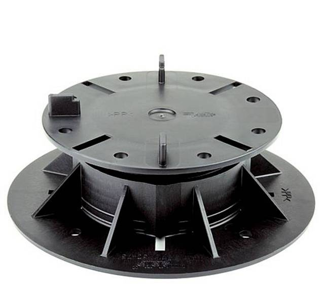 Stelzlager Höhenverstellbar mit Fugenkreuz hergestellt von Euro-System Couwenbergs OHG